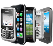 smartphone android palm windows mobile iphone 1
