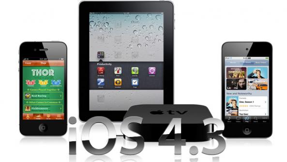 คลอดแล้ว!!! iOS 4.3 ที่แฟนๆ iPhone / iPad / iPod Touch รอคอย ตามไปอัพเดทกันเร็ววว