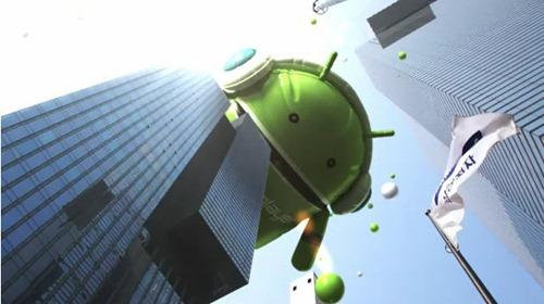 วิดีโอโฆษณา Samsung Galaxy Player 70 : เมื่อหันไปก็เจอแต่น้องดรอย (นางแบบน่ารักนะ)