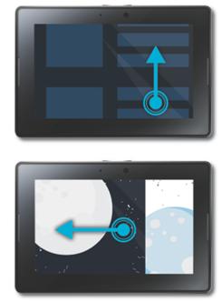 ใครรอซื้อ PlayBook ควรอ่าน : คู่มือการ swipe จอ ใช้อย่างไรให้สุดเจ๋ง