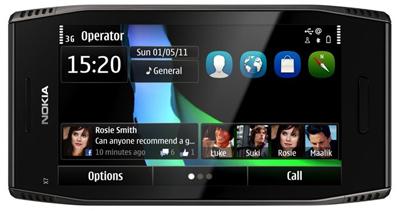 30 Nokia X7
