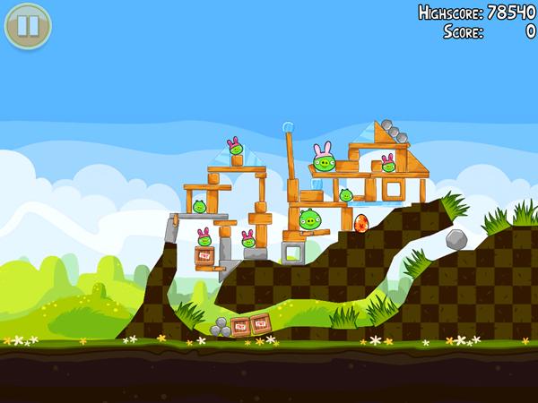 Angry Birds Seasons Easter Sneak Peak 1