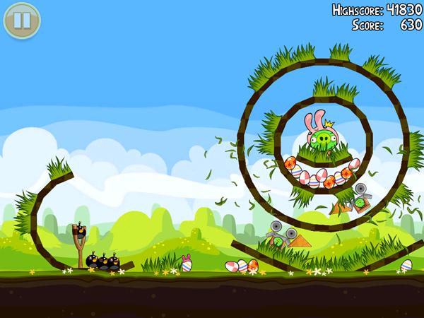 Angry Birds Seasons Easter Sneak Peak 2