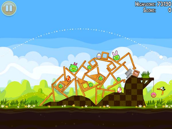 Angry Birds Seasons Easter Sneak Peak 3
