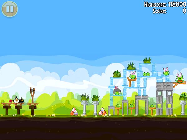 Angry Birds Seasons Easter Sneak Peak 4