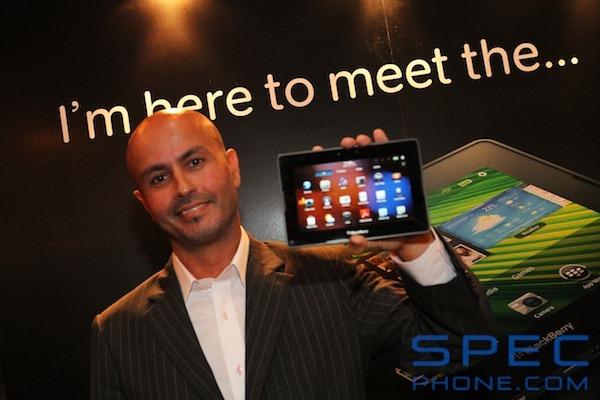 PR BlackBerry PlayBook 5