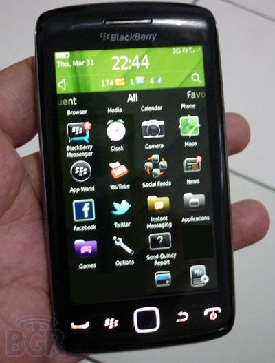 ไอคอนปริศนาบน BBOS 6.1 ที่อยู่บน BlackBerry Monaco/Monza มันคืออะไรนะ ?