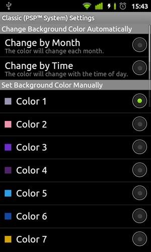 PSP Live Wallpaper, Backup and Restore, Timescape UI  สวยๆจาก Xperia Play มาให้ดาวน์โหลดเเล้ว
