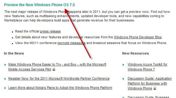 windows phone 75