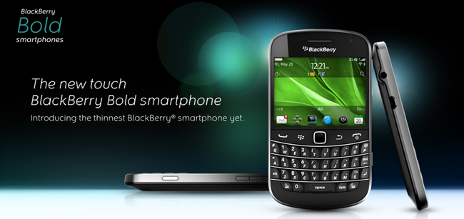 RIM เปิดตัว BlackBerry Bold 9900 อย่างเป็นทางการ