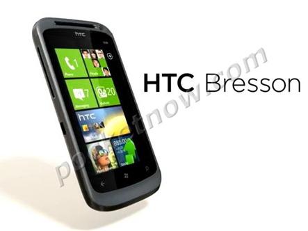 เผยโฉม HTC Bresson มือถือ WP 7.5 พร้อมกล้อง 16 MP