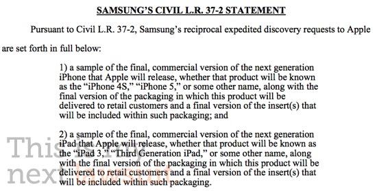 samsung apple ipad 3 iphone 4S