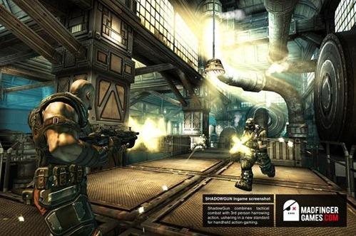Shadowgun โคตรแห่งเกม!!! ที่จะมารีดพลัง NVIDIA Tegra 3