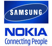 Samsung and Nokia Logo