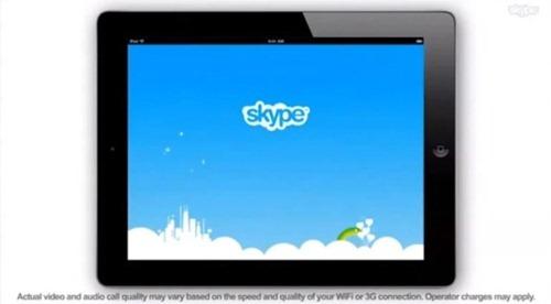 หลุด !! Skype สำหรับ iPad มาแน่