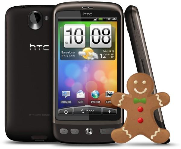 ซะงั้น!!! HTC ล่าสุด มาวันนี้ไหงบอกว่าจะอัพ Desire เป็น Android 2.3 Gingerbread ให้ได้