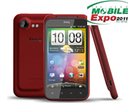 htc incredible s red