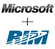 มีโอกาสที่ Microsoft อาจจะเข้าซื้อกิจการของ RIM จากสถานการณ์หุ้นตก!!!