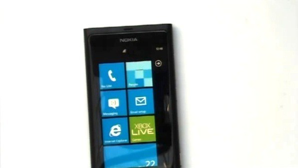 nokia sea ray running windows phone mango front on