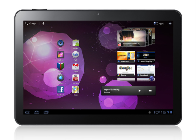 เลื่อนตามคาด!!! Samsung Galaxy Tab 10.1 รับเครื่องวันที่ 25 สิงหาคม จากเดิมที่เป็นภายในเดือนกรกฎาคม
