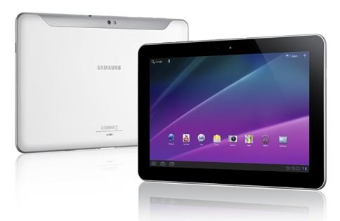 Samsung Galaxy Tab 10.1 White1