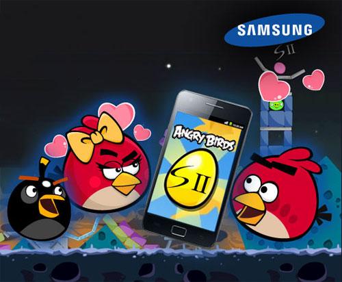 แผนการตลาดใหม่!!! Samsung จับมือ Angry Birds สร้างด่านพิเศษ Galaxy S II ขึ้นมาโดยเฉพาะ ในภาค Summer Pignic