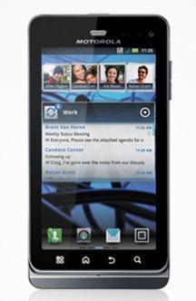 Motorola เตรียมส่ง XT860 4G แฝด Droid 3 ลุยแคนาดาแล้ว