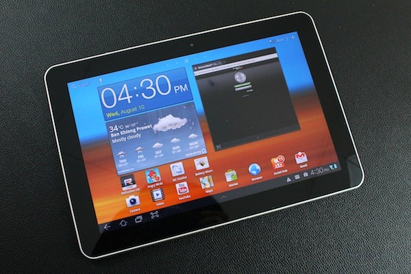 Review Samsung Tab 10.1 - 27