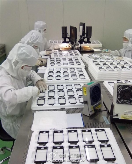 chinese iphone 5 production factory