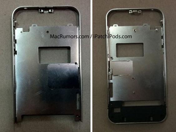 ขโมยถ่ายกรอบ iPhone 4GS ใหม่ เปลี่ยนรูปเเบบเสาอากาศกันสัญญาณหายจากรุ่นก่อน