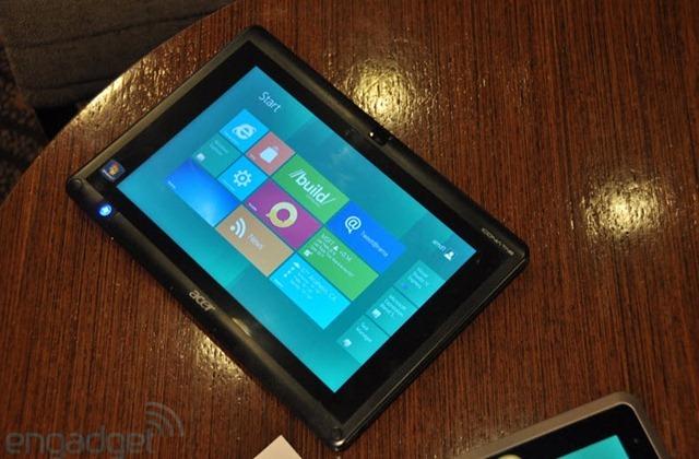 วีดีโอโชว์เเท็บเล็ต AMD Fusion C-50 รัน Windows 8 ลื่นเเบบไม่เเคร์สื่อ เเถม Windows 8 รันบน Nvidia Tegra 3