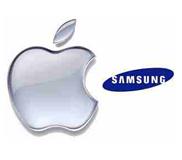 Apple logo samsung logo1