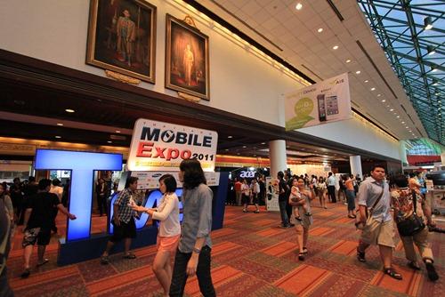 รวมราคา โปรโมชัน เเละเครื่องให้ลองเล่นในงาน Thailand Mobile Expo Showcase 2011