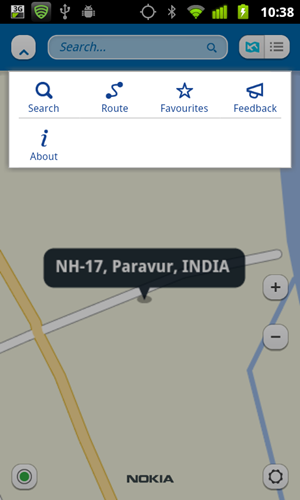 Nokia-Maps-Search-Options