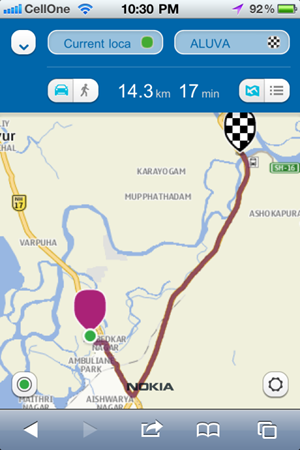 Nokia-Maps-iPhone-Directions