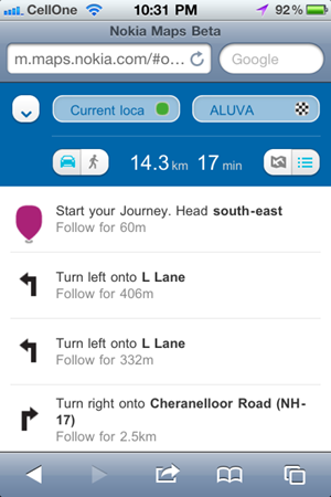 Nokia-Maps-iPhone-Walking
