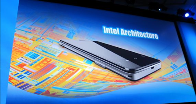 Intel ก้าวสู่ยุค Mobile เต็มตัว : Android รุ่นใหม่จะสนับสนุนซีพียู X86 พร้อมโชว์มือถือตัวต้นเเบบที่ใช้ Android 2.3