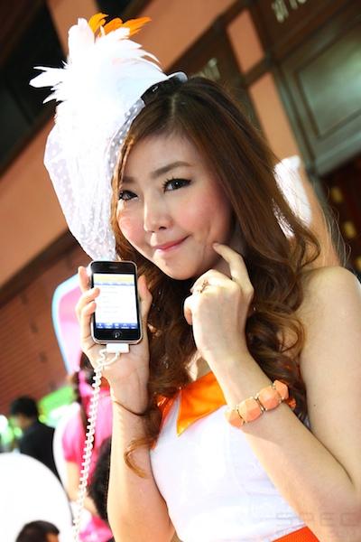 Thailand Mobile Expo Showcase 2011 Pretty1 36
