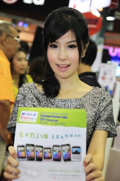 Thailand Mobile Expo Showcase 2011 Pretty2 34