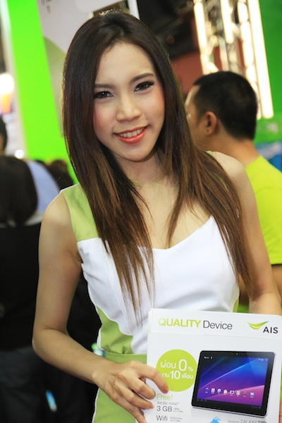 Thailand Mobile Expo Showcase 2011 Pretty2 9
