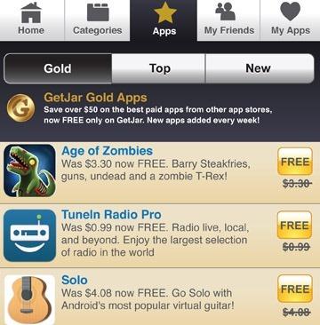 GetJar เปิดตัว GetJar Gold ให้โหลดแอพเสียเงินกันแบบฟรีๆ (พร้อมวิธีโหลด)