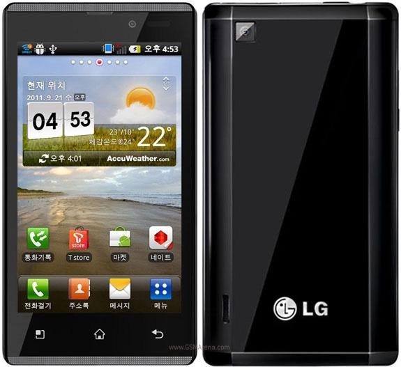 มาแล้ว LG Optimus EX ภาคต่อ Optimus 2X บางลง เบาลง แรงขึ้น