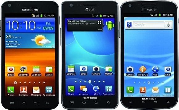 เปิดตัว Samsung Galaxy S II 3 เครื่อง 3 เครือข่ายในสหรัฐฯ (บางตัวใช้ในไทยได้นะเอ้อ)