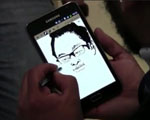 thumb samsung galaxy note caricature