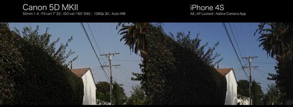 เมื่อจับกล้อง Apple iPhone 4S ชนจังๆ กับกล้อง DSLR ระดับมืออาชีพ Canon EOS 5D MK II ผลออกมาจะเป็นอย่างไร