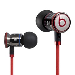Black Dr Dre iBeats Headphones with ControlTalk From Monster