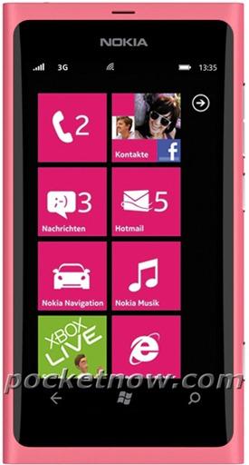 Nokia-800-Pink