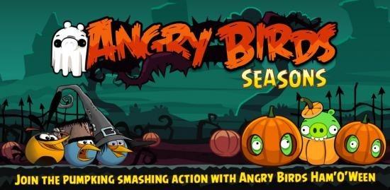 Angry Birds มาอีกครั้ง ต้อนรับเทศกาลกับภาคใหม่ : Ham'O'Ween