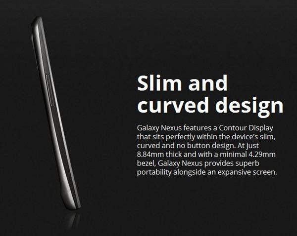 เปิดตัว Galaxy Nexus อย่างเป็นทางการ : พ่วงพลัง Android 4.0 หน้าจอความละเอียดถึง 720p บางเฉียบเพียง 8.84 มม.