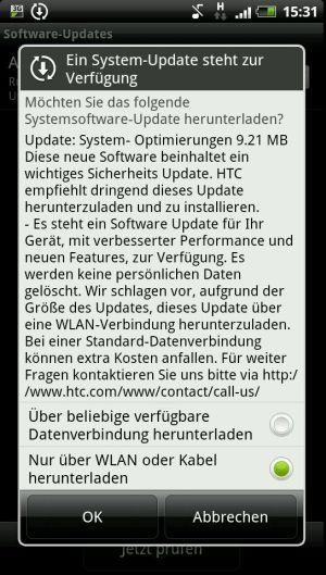 HTC แอบปล่อยอัพเดทแก้ปัญหาเก็บข้อมูล บน HTC Sensation, EVO 3D GSM แล้ว